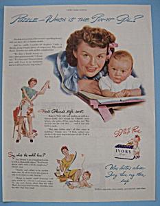 Vintage Ad: 1946 Ivory Soap (Image1)
