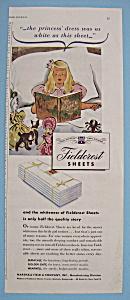 Vintage Ad: 1946 Fieldcrest Sheets (Image1)
