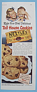 Vintage Ad: 1949 Nestle's Semi Sweet Chocolate