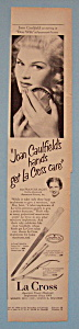 Vintage Ad: 1950 La Cross with Joan Caufield (Image1)