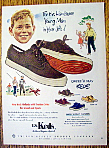 1952 Dress & Play Keds Shoes with Boy's Face  (Image1)