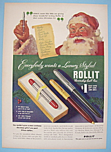 Vintage Ad: 1948 Roll It Ball Pen (Image1)