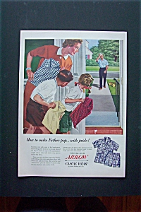 1950 Arrow Casual Wear with Watching Man Come Home  (Image1)