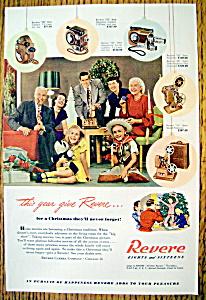 Vintage Ad: 1948 Revere Eights & Sixteens Cameras (Image1)