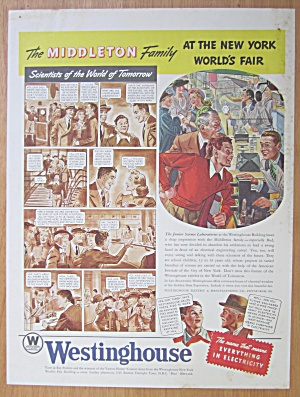 1939 Westinghouse w/ Middleton Family At NY World Fair (Image1)