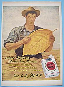 Vintage Ad: 1946 Lucky Strike Cigarettes (Image1)