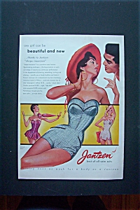 1950's Jantzen Swim Suits with a Woman in a Swim Suit (Image1)