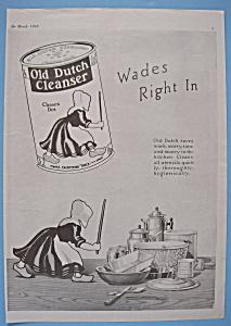 Vintage Ad: 1918 Old Dutch Cleanser (Image1)