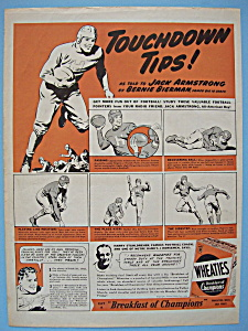 Vintage Ad: 1939 Wheaties Cereal By Jack Armstrong