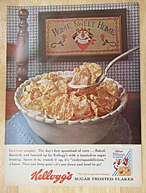 Vintage Ad: 1937 Grape-nuts Flakes W/ Buck Jones