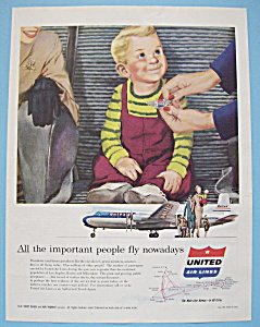 Vintage Ad: 1954 United Air Lines