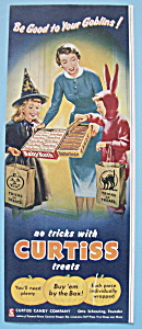 1955 Curtiss Candy Company With Children Trick Or Treat