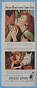Vintage Ad: 1946 Jergens Lotion (Image1)