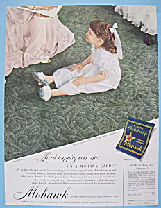 Vintage Ad: 1949 Mohawk Carpet (Image1)