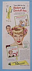 Vintage Ad: 1949 Prell Shampoo (Image1)