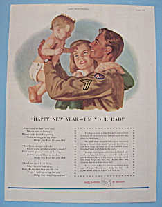 1946 Ivory Soap with Soldier Holding Up a Little Baby (Image1)