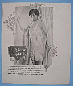 Vintage Ad: 1926 Bien Jolie Corsette (Image1)