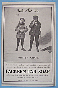 Vintage Ad: 1907 Packer's Tar Soap (Image1)