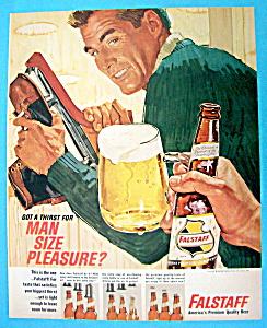 Vintage Ad: 1964 Falstaff Beer (Image1)