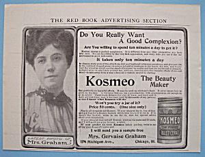 Vintage Ad: 1906 Kosmeo Toilet Cerate (Image1)
