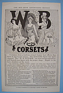 Vintage Ad: 1905 W. B. Erect Form Corsets (Image1)