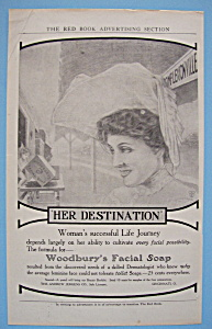 Vintage Ad: 1905 Woodbury's Facial Soap (Image1)