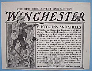 Vintage Ad: 1905 Winchester Shotguns & Shells (Image1)