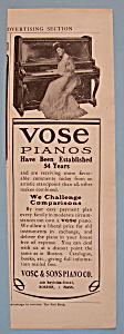 Vintage Ad: 1905 Vose Pianos (Image1)