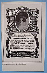 Vintage Ad: 1905 Derma - Royale Soap (Image1)