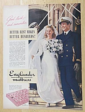 1945 Englander Mattress with Soldier & Bride  (Image1)