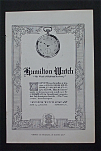 1917 Hamilton Watches with Pocket Watch  (Image1)