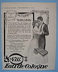 Vintage Ad: 1912 Eau De Cologne (Image1)