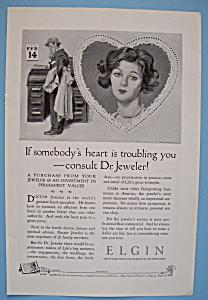 Vintage Ad: 1924 Elgin Watch (Image1)