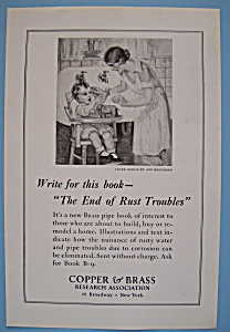 Vintage Ad: 1924 Copper & Brass Research Association (Image1)