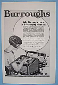 Vintage Ad: 1924 Burroughs Adding Machine Company (Image1)