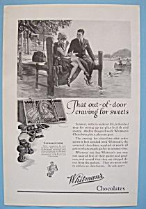 Vintage Ad: 1924 Whitman's Chocolates (Image1)