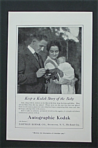 1917 Eastman Kodak Company with Man Taking Film Out  (Image1)