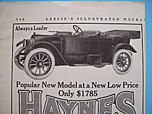 1913 Haynes Model 24 With America's First Car