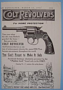 Vintage Ad: 1913 Colt Revolvers (Image1)