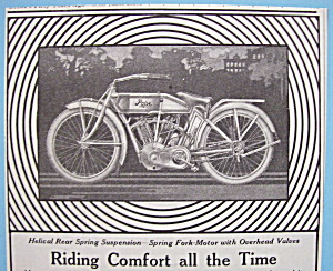 Vintage Ad: 1913 Pope Motorcycles (Image1)