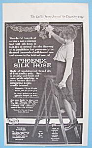 Vintage Ad: 1914 Phoenix Silk Hose (Image1)