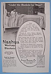 Vintage Ad: 1914 Nashua Woolnap Blankets (Image1)