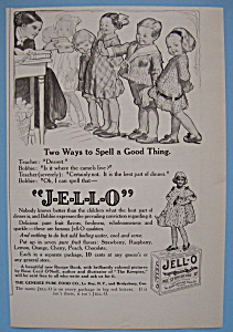 Vintage Ad: 1914 Jell-o