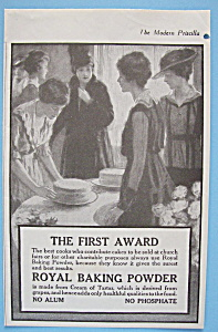 Vintage Ad: 1916 Royal Baking Powder (Image1)