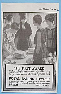 Vintage Ad: 1916 Royal Baking Powder (Image1)
