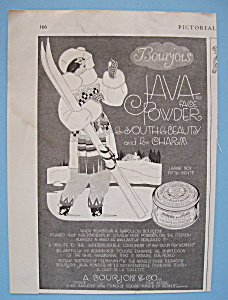 Vintage Ad: 1919 Bourjois Java Face Powder (Image1)