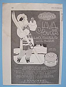 Vintage Ad: 1919 Bourjois Java Face Powder (Image1)