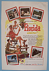 Vintage Ad: 1955 Golden Florida Glow (Image1)