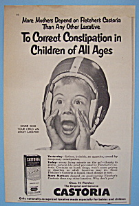 Vintage Ad: 1955 Castoria (Image1)