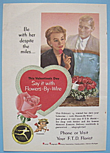 Vintage Ad: 1955 Florists' Telegraph Delivery (Image1)
